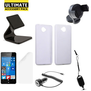 The Ultimate Pack for the Microsoft Lumia 650 consists of fantastic must have accessories designed specifically for the Lumia 650.