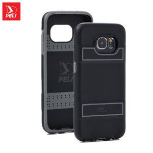 The Peli ProGear Guardian Case in black and grey keeps your Galaxy S7 protected with a thin and lightweight yet protective dual-layer design, ensuring the perfect combination of style and security without adding unnecessary bulk.