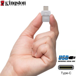 Backup, store and share your favourite photos, videos and music between USB Type-C and standard USB devices with the 32GB Kingston DataTraveler USB Memory Stick.