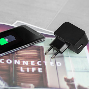 Olixar High Power 2.4A USB EU Wall Charger