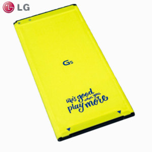 Part of the LG G5 Friends and Accessories range, this official LG spare or replacement 2800mAh battery for your LG G5 will ensure that you have enough quality and reliable power available for your needs.