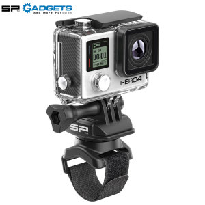 Meet the most versatile GoPro mount on the planet! The Velcro Strap Mount from SP Gadgets is flexible enough to attach to a wide range of surfaces including handlebars, railings, fittings around the house and even your wrist.