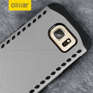 Die Olixar Shield case Hülle für Samsung Galaxy S7 Edge in einem attraktiven Dual-Design schützt Ihr Handy von Kratzern und Stoßen.