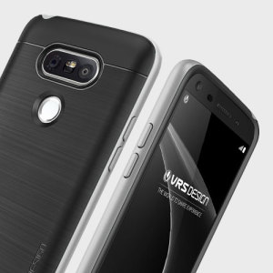 Protect your LG G5 with this precisely designed high pro shield series case in steel silver from VRS Design. Made with tough dual-layered yet slim material, this hardshell body with a sleek bumper features an attractive two-tone finish.