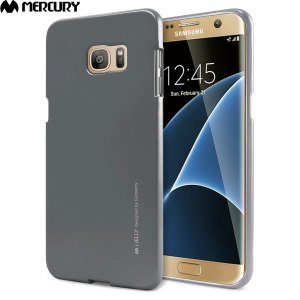 A premium gel case for your Galaxy S7 Edge. The Mercury Goospery Jelly features a superb metallic grey gloss UV finish and robust high quality TPU gel material that will take all the knocks and look fabulous while doing so.