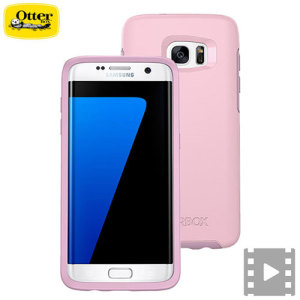 Coque Samsung Galaxy S7 Edge OtterBox Symmetry - Rose