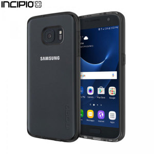 Protect your Samsung Galaxy S7 with this sleek and stylish Octane Pure case from Incipio. Featuring a clear back and a contrasting black bumper, this case showcase's your stunning new Galaxy S7.