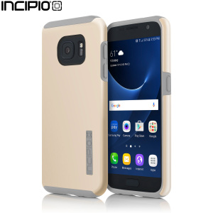 The Incipio DualPro in Champagne Gold and Grey wraps your Samsung Galaxy S7 in 2 layers of protection, first of which being a strong silicone core and the second being a colourful hard shell outer cover.