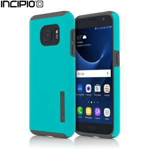 The Incipio DualPro in Teal and Grey wraps your Samsung Galaxy S7 in 2 layers of protection, first of which being a strong silicone core and the second being a colourful hard shell outer cover.