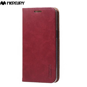 The Mercury Blue Moon Wallet case in wine for the  Samsung Galaxy J5 2015 delivers exceptional style in a slim and sleek package. Crafted from premium materials, the case looks amazing and features slots for your cards and documents.