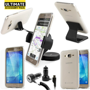 The Ultimate Pack for the Samsung Galaxy J5 2015 consists of fantastic must have accessories designed specifically for the Galaxy J5 2015.