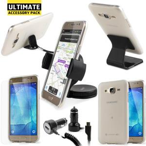 En este fantástico novedoso pack de accesorios tendrá todo lo que necesita para su Samsung Galaxy J5 2015