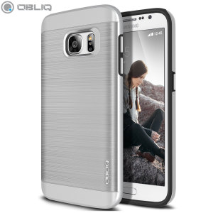 Protect your Samsung Galaxy S7 with this ultra slim case in satin silver which protects as well as providing a stunning full body protection in an attractive dual design.