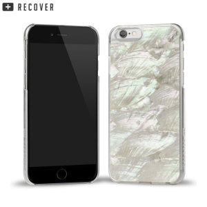 Coque iPhone 6S / 6 Recover Coquille Ormeau - Blanche