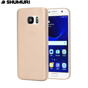 Coque Samsung Galaxy S7 Shumuri Slim - Or