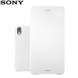 Official Sony Xperia X Style Cover Flip Case - White
