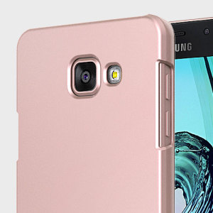 Durable and lightweight, the Matchnine Match1 Samsung Galaxy A7 2016 case offers premium protection in a slim, stylish package. Carefully designed, the Match1 case in rose gold is precisely form-fitted to the phone to highlight its original design.