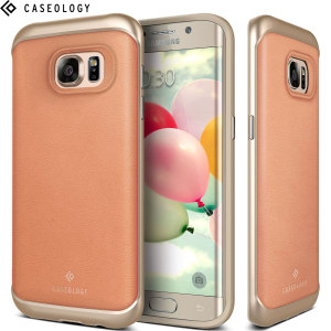Made from dual layers of rugged TPU and tough polycarbonate with bonded premium textured layers and featuring a stunning salmon pink leather design, the Envoy Series tough case keeps your Galaxy S7 Edge safe, slim and stylish.