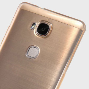 Coque Huawei Honor 5X Nillkin Shell - Or Transparent