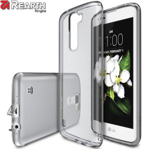 Protect the back and sides of your LG K7 with this incredibly durable and crystal backed Air Case by Ringke.