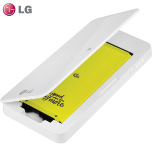 Part of the LG G5 Friends and Accessories range, this official LG G5 accessory will ensure that you have enough quality and reliable power available for your needs. Using the LG G5's built-in expansion module, you can ensure your LG G5 lasts the day.