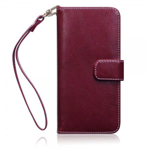 Sophisticated and lightweight, this red floral leather-style wallet case is the ideal companion for your Samsung Galaxy S7. The Olixar wallet case offers perfect protection for your S7, as well as featuring slots for your cards and cash.