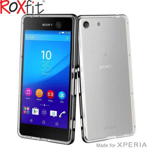 Roxfit Pro-2 Gel Shell Sony Xperia X Case - Clear / Black