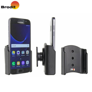 Use your Samsung Galaxy S7 safely in your vehicle with this small, neat and discreet Brodit Passive holder, complete with tilt swivel. Also compatible with the Galaxy S7.