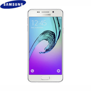 Unlocked 16GB Samsung Galaxy A3 2016 in white. With a 4.7 inch display featuring a 720 x 1280 resolution, 13MP camera and running Android 5.1 - this Samsung smartphone is ready for anything you can throw at it.