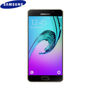 Unlocked 16GB Samsung Galaxy A5 2016 in gold. With a 5.2 inch display featuring a 1080 x 1920 resolution, 13MP camera and running Android 5.1 - this Samsung smartphone is ready for anything you can throw at it.