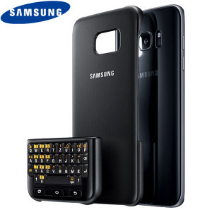 Experience fast and efficient typing with the slim and incredibly protective official black QWERTZ keyboard cover from Samsung for the S7 Edge. With no Bluetooth connection or power required, the keyboard case won't drain your batter or require charging.