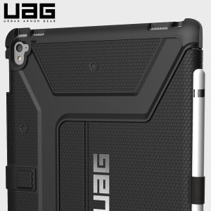 The UAG Scout Rugged Folio Case in black keeps your iPad Pro 9.7 inch protected with a lightweight, but highly protective honeycomb composite interior, with a tougher outer case, ensuring the perfect combination of style and security.