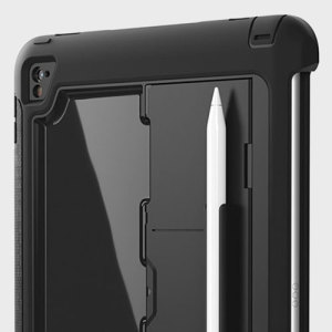 All the protection of a Griffin Survivor in a slimline package for your iPad Pro 9.7 inch. Featuring tough, rugged multi-layered protection, the case provides exceptional protection, storage for the Apple Pencel and a media kickstand.