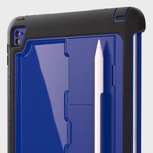 Toda la protección de una funda Griffin Survivor en un formato más delgado para su iPad Pro 9.7. Con capas absorbentes de impactos, esta funda proporciona una protección excepcional incluyendo además un hueco para almacenar el Apple Pencil.