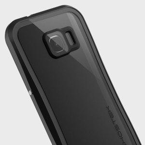 Equipez votre Samsung Galaxy S7 avec la coque la plus solide et résistante disponible ! La coque Ghostek Atomic 2.0 Waterproof Tough de couleur Noir Transparent protégera votre smartphone des chutes et des rayures grâce à son film HD protecteur.