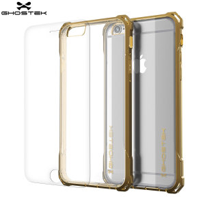 The Covert Protective case in clear and champagne gold from Ghostek comes complete with a tough tempered glass screen protector to provide your Apple iPhone 6S / 6 with fantastic all round protection.