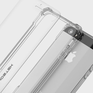 The Covert Protective case in clear from Ghostek comes complete with a tough and highly durable film screen protector to provide your Apple iPhone SE with fantastic all round protection.