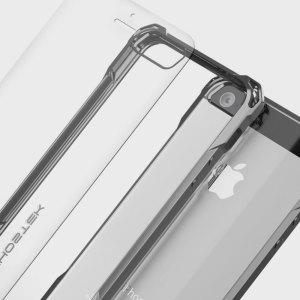 La coque Covert de chez Ghostek est livrée avec une protection d'écran en verre trempé afin d'offrir une protection intégrale à votre iPhone SE.