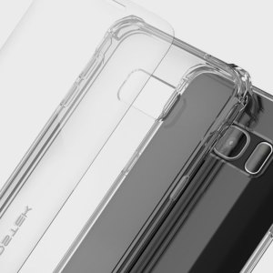 The Covert Protective bumper case in clear from Ghostek comes complete with a tough and highly durable film screen protector to provide your Samsung Galaxy S7 with fantastic all round protection, whilst highlighting its superb design.
