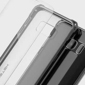 The Covert Protective bumper case in black and clear from Ghostek comes complete with a tough and highly durable film screen protector to provide your Samsung Galaxy S7 Edge with fantastic all round protection, whilst highlighting its superb design.