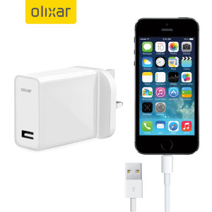 Charge your Apple iPhone SE quickly and conveniently with this compatible 2.4A high power charging kit. Featuring mains adapter with Lightning connection cable. It's also fully compatible with iOS 9 and later, so no annoying warnings.