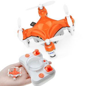 The BuzzBee 6-Axis Quadcopter Drone from VR Insane is flown using the included remote control, and just happens to be the smallest nano drone in the world! Enjoy endless hours of indoor or in the garden fun with this charming little flying machine.