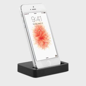 This small and discreet charge dock conveniently allows you to sync and charge your iPhone SE simultaneously.