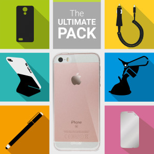 The Ultimate Pack for the iPhone SE consists of fantastic must have accessories designed specifically for your device.