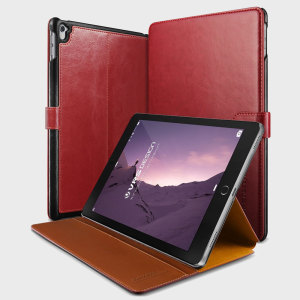 "Stylish and elegant, this premium case in wine red from Verus, will ensure your iPad Pro 9.7"" is kept looking good, without adding unnecessary bulk."