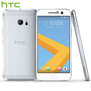 Unlocked 32GB HTC 10 in glacier silver. With a 5.2 inch display featuring a 1440 x 2560 resolution, 12MP camera and running Android 6.0 - this HTC smartphone is ready for anything you can throw at it.