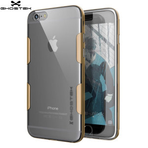 Ghostek Cloak iPhone 6S Plus / 6 Plus Tough Case - Clear / Gold