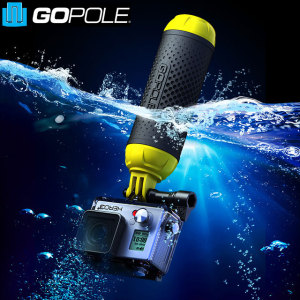 Ready for all handheld situations on both land and in water, the floating Bobber Grip from GoPole is a must have any GoPro enthusiast. Highly portable, the Grenade grip allows you to capture breathtaking footage no matter where you are.