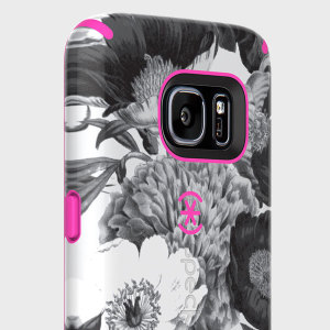 The CandyShell Inked in Vintage Bouquet / Shocking Pink by Speck is a scratch-resistant and beautifully coloured case. Its two layers of protection meet the military drop test to ensure maximum protection for your Samsung Galaxy S7.