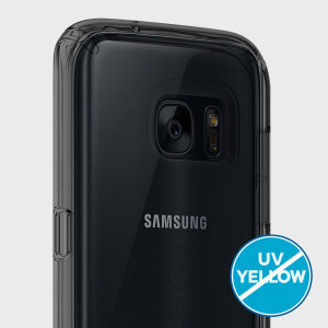 Coque Samsung Galaxy S7 Edge Speck CandyShell - Transparent / Noir